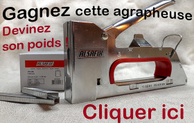 gagnez une agrafeuse
