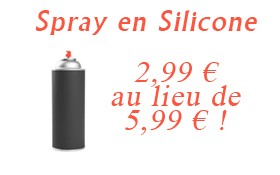 Spray en silicone