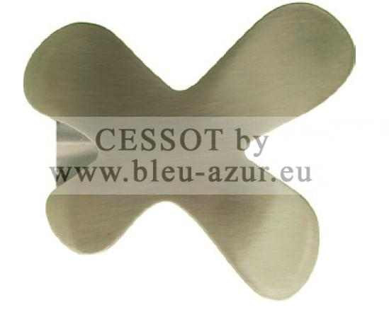 298 - Embout Couture Ø 28mm Nickel mat
