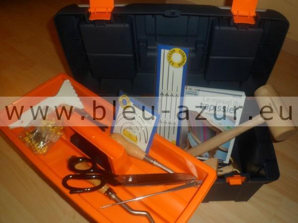 caisse outils pour tapissier avec caisse achat outillage de tapissier. Black Bedroom Furniture Sets. Home Design Ideas