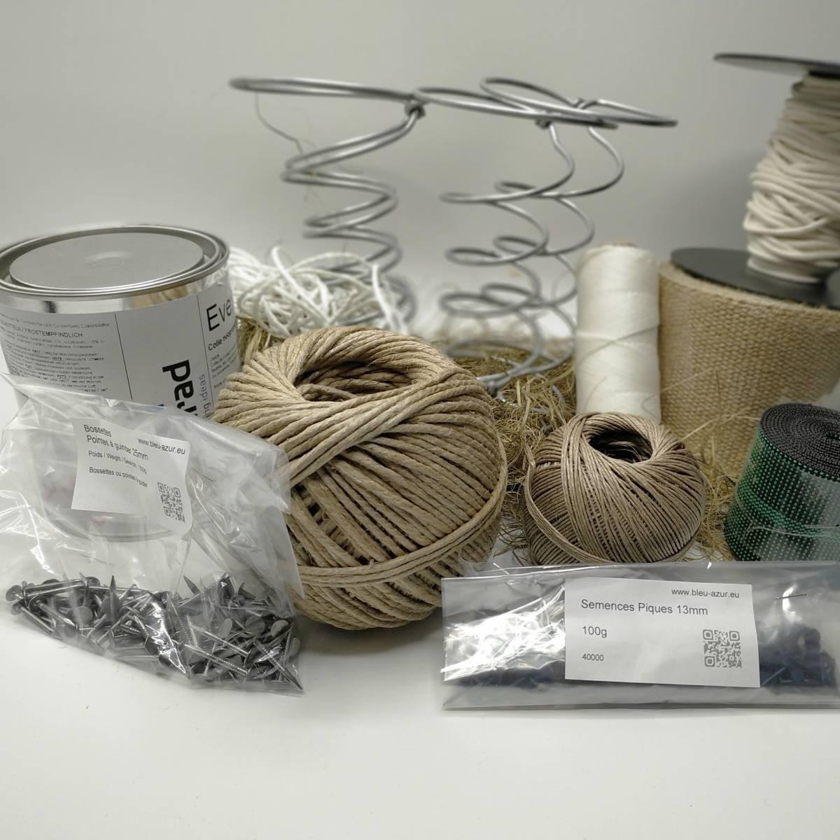 kit confection voltaire mousse ressorts achat kit de confection voltaire. Black Bedroom Furniture Sets. Home Design Ideas