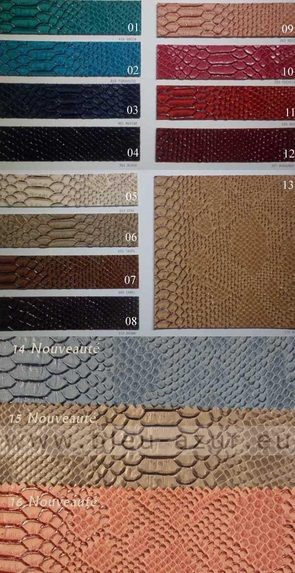 tissus simili cuir dragon achat tissus simili cuir dragon. Black Bedroom Furniture Sets. Home Design Ideas